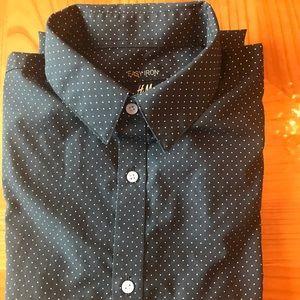 H&M Long Sleeve Shirts easy iron Size M